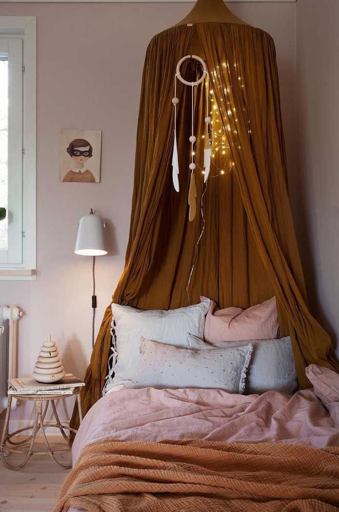 Filtro dos sonhos para quarto de menina: toque a mais de delicadeza