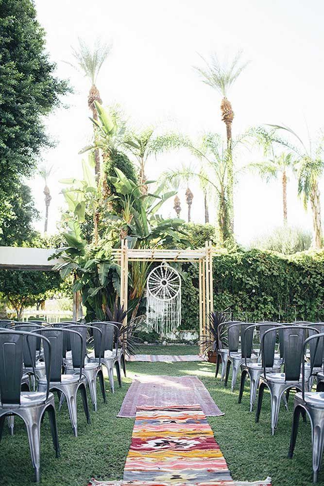 Filtro dos sonhos para decorar casamento ao ar livre