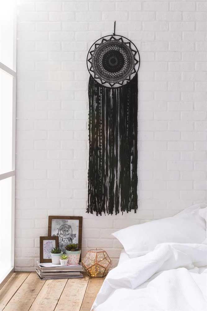 Mais um modelo de filtro dos sonhos preto
