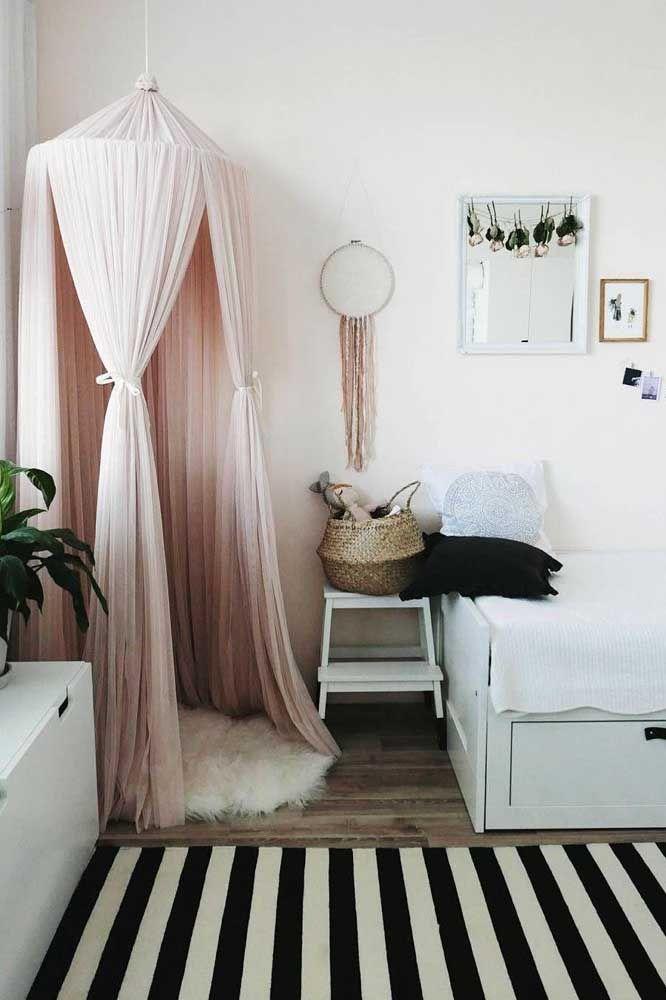 Decoração romântica: delicadeza e sutileza para o quarto
