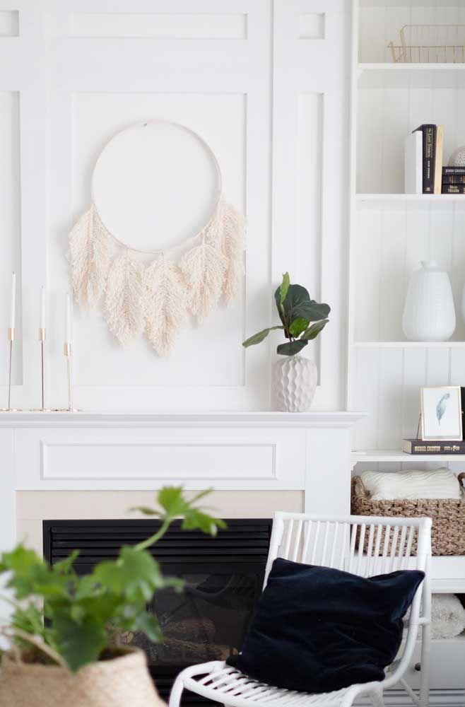 Para decoração minimalista, é uma ótima opção esse filtro dos sonhos
