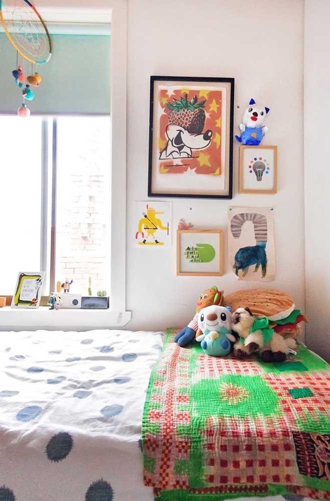 Quarto infantil: filtro dos sonhos em feltro