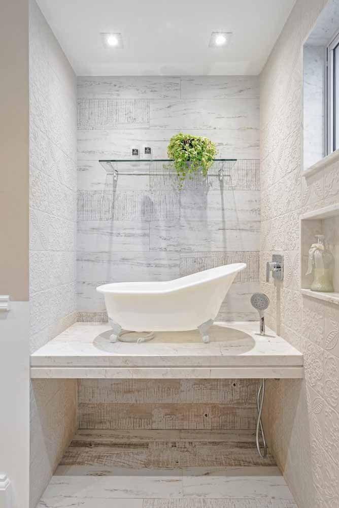 Pátina na parede do banheiro? Sim, também é possível!