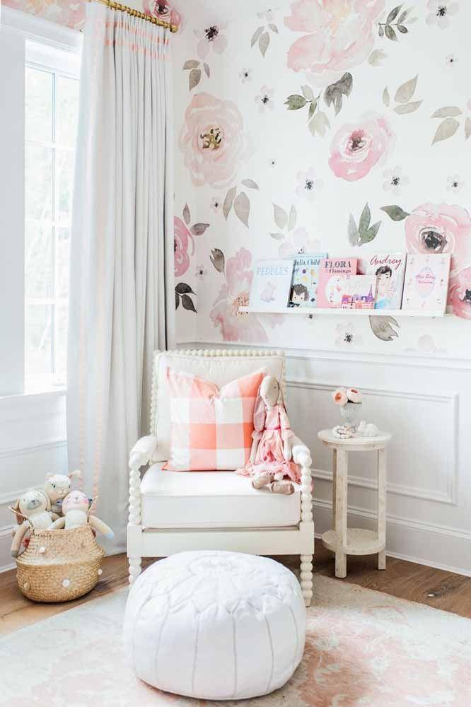 Mais uma inspiração perfeita de móvel em pátina para o quarto infantil