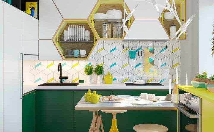 Cozinha colorida: conheça 90 inspirações incríveis para decorar