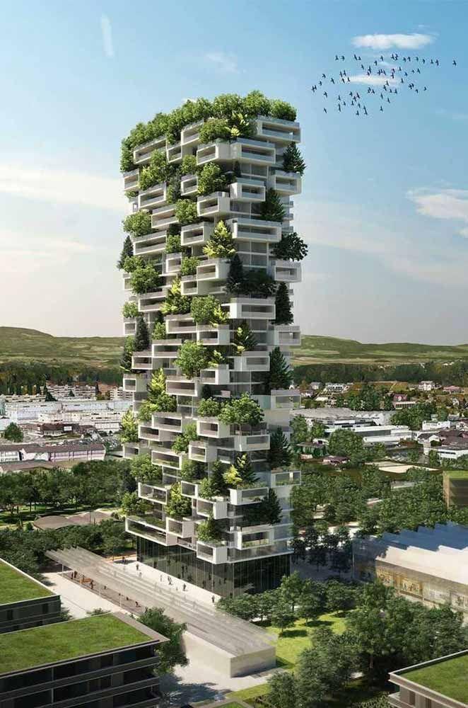 As construções do futuro vão se inspirar em projetos como esse: capazes de unir soluções sustentáveis com tecnologia