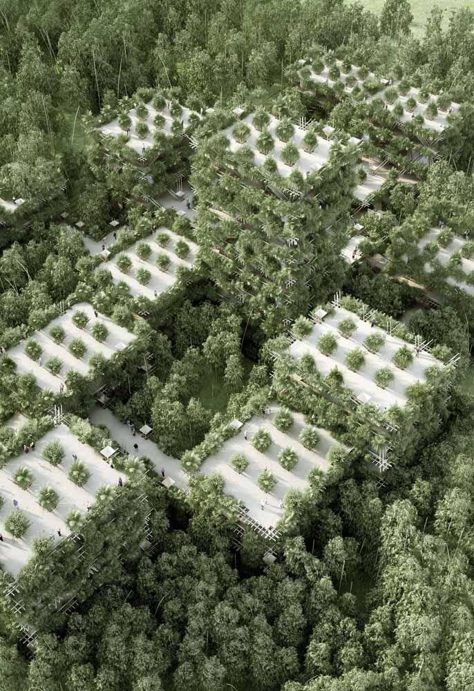 E se no futuro as cidades forem assim? Maravilhoso só de imaginar!