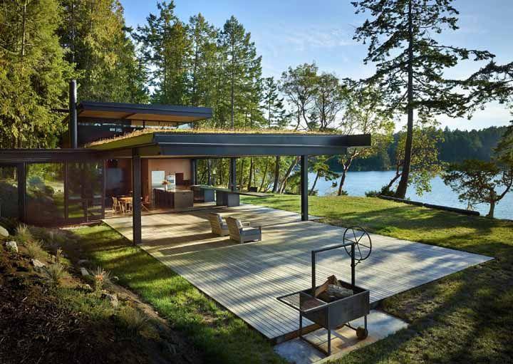 Estruturas de metal, madeira ou concreto: qualquer uma delas pode receber um telhado verde