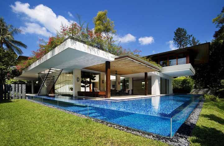 Flores, árvores, folhagens: monte seu telhado verde como quiser só não se esqueça de adequar o projeto com a estrutura da sua casa