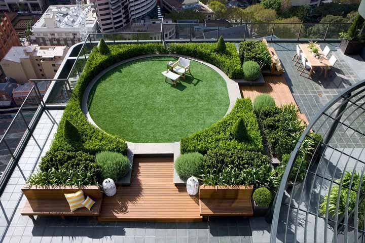 Telhados verdes são soluções para residências, prédios e construções comerciais