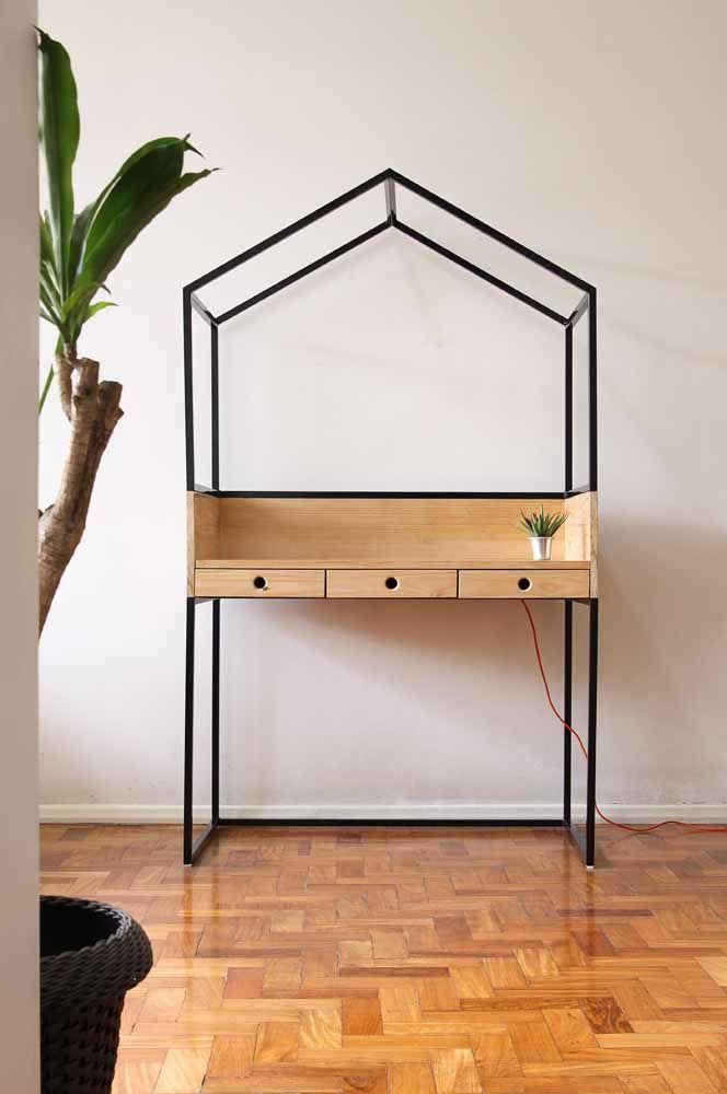 E uma escrivaninha em formato de casinha, te agrada?