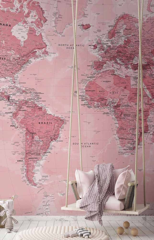 Aqui, o mundo é literalmente cor de rosa