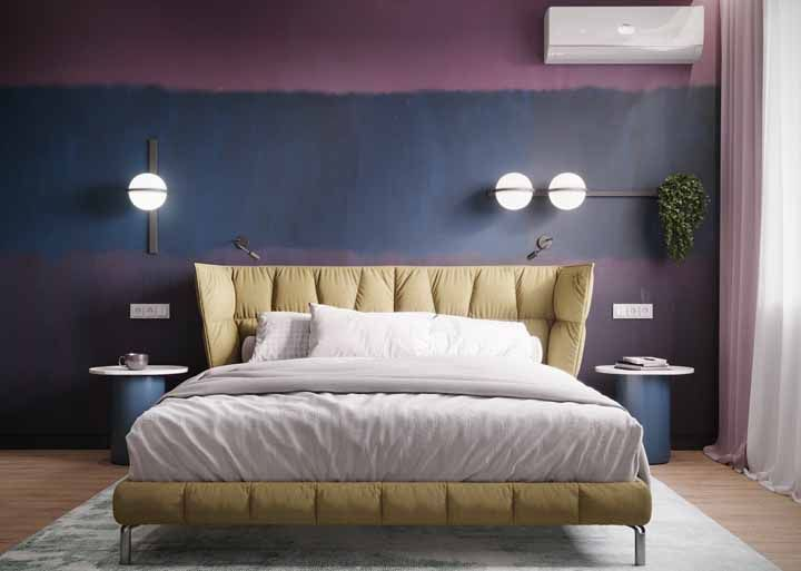Combinação de cores para paredes: a gradação de cores é uma tendência na decoração e também pode trazer um aspecto diferente no feng-shui