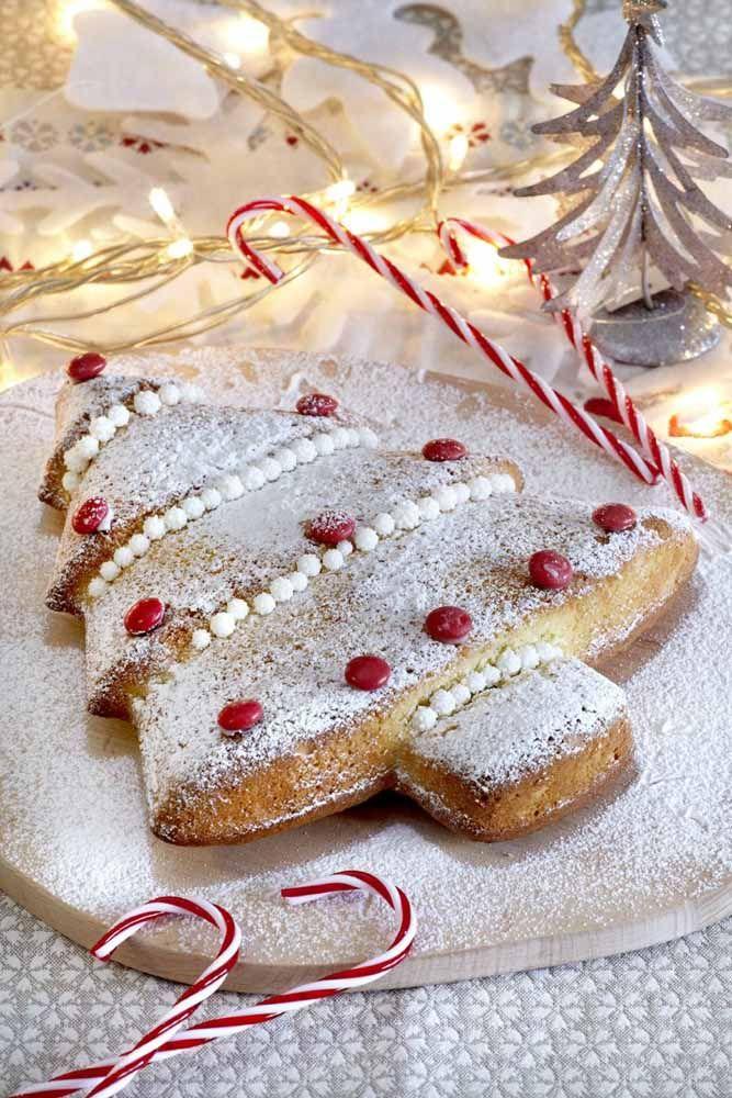 Uma ideia de bolo para a sua ceia já no espírito do Natal