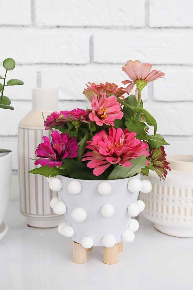 Cachepô decorativo para vasos