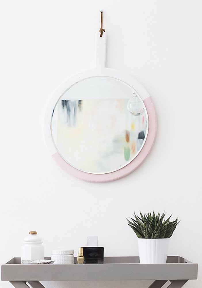 Decore e personalize molduras para espelho