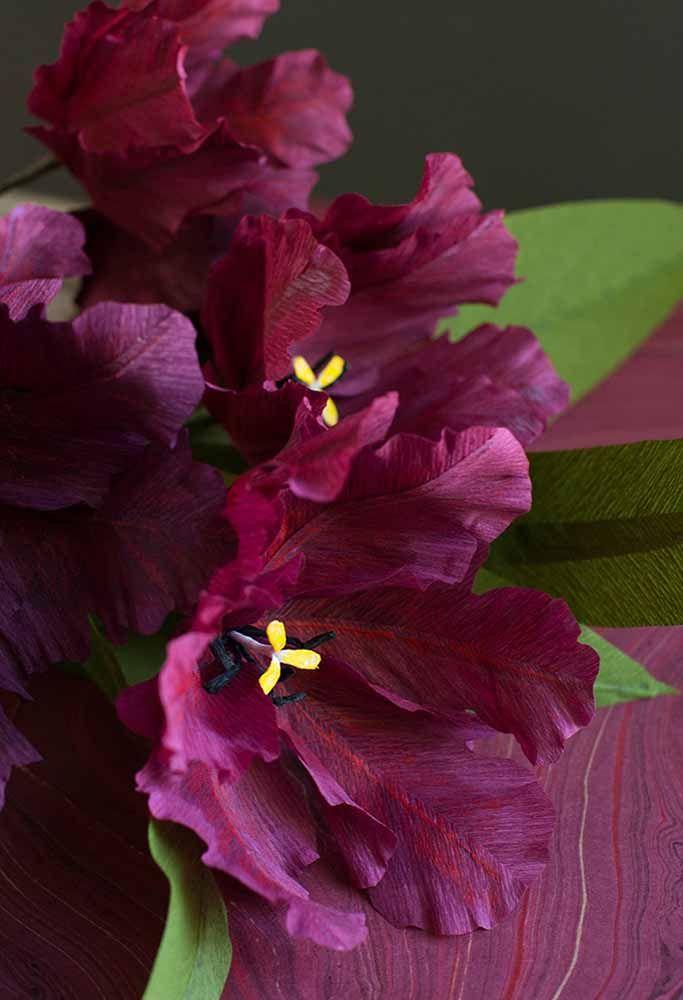 Já deu para começar a se apaixonar pelas flores de papel não é mesmo?