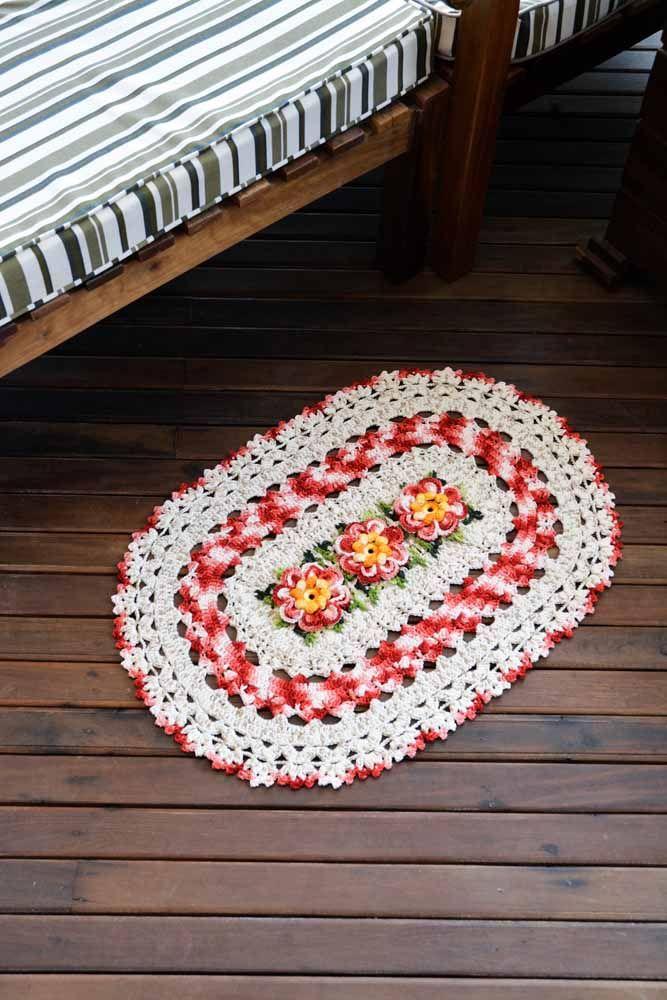 Flores tridimensionais mescladas para trazer mais textura para a sua peça