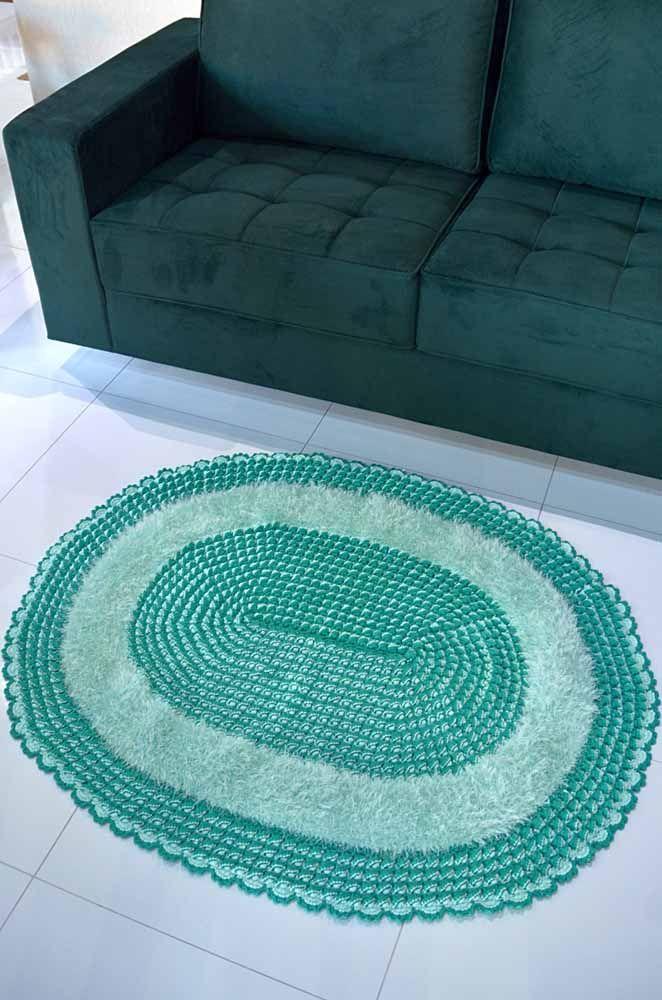 Mix de barbantes para completar o estilo e o conforto do seu tapete