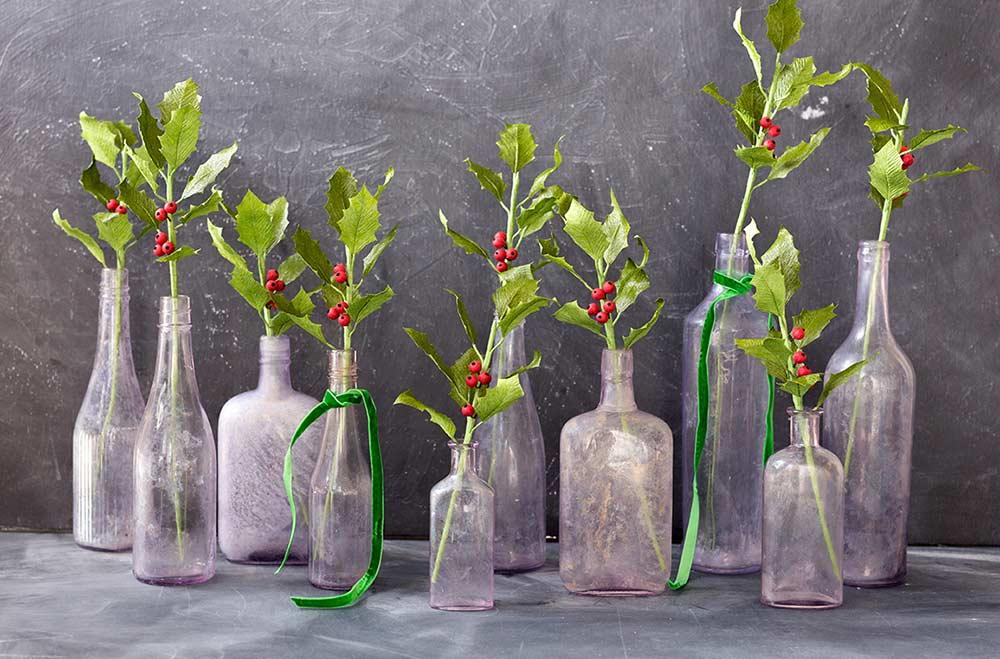 Tipos de garrafa de vidro para pintura