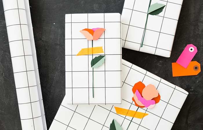 Onde usar flores de papel