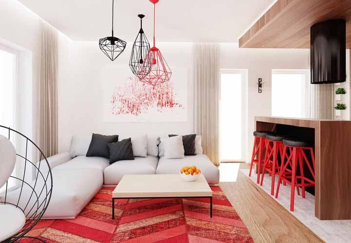 Vermelho: saiba o significado da cor e veja ideias de decoração