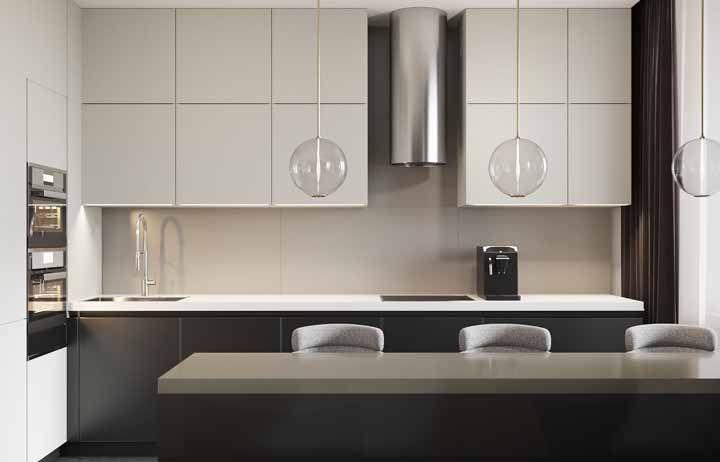 O preto e branco na decoração minimalista: clássico dos clássicos