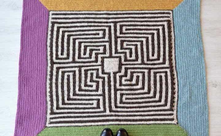 Tapete de crochê quadrado: veja 60 modelos diferentes com passo a passo