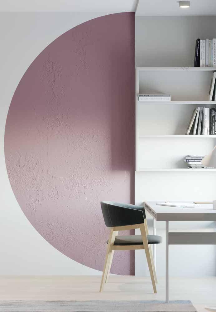 Que tal usar a cor lilás para destacar figuras simétricas?