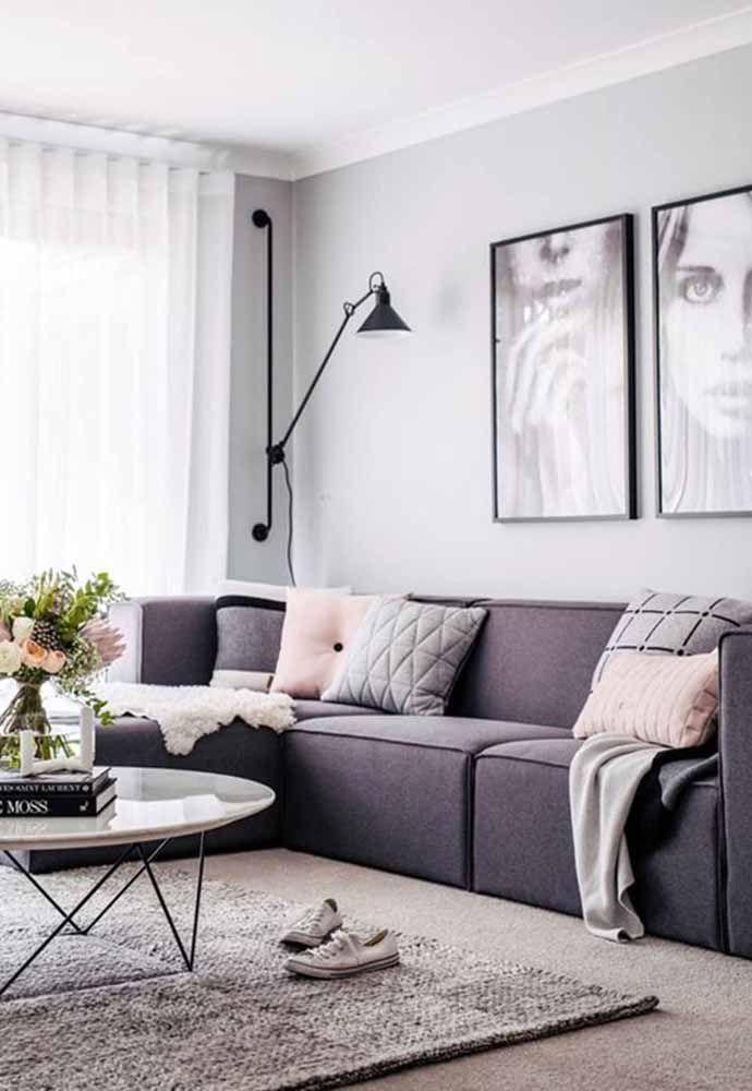 O lilás deixa qualquer ambiente mais sofisticado