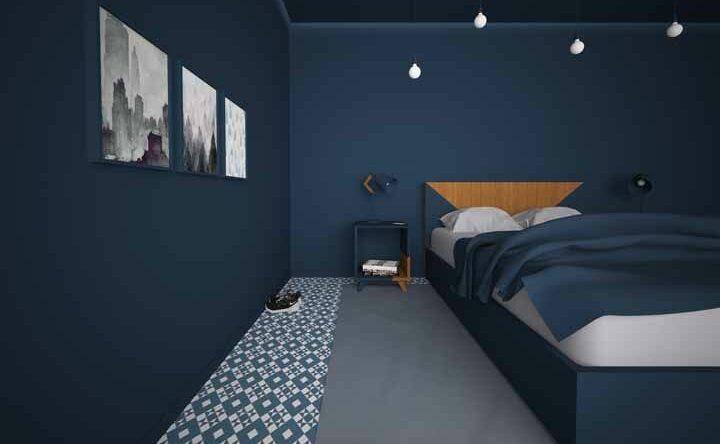 Azul marinho: o novo pretinho na decoração de ambientes
