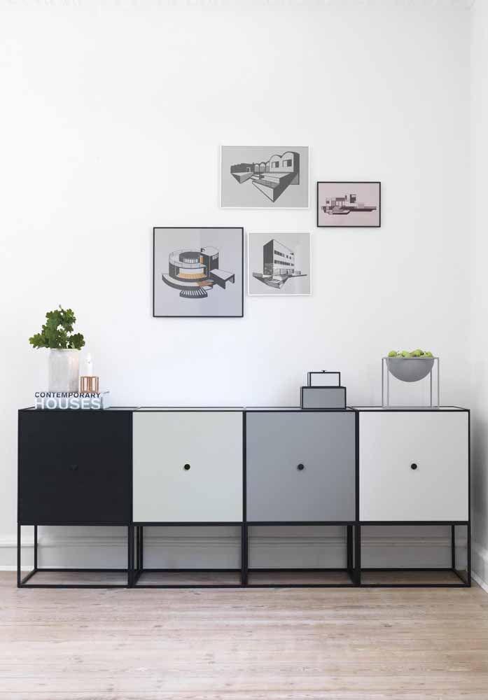 Caixas que mais se assemelham a armários: mas não tem problema, o que realmente importa é a organização do local
