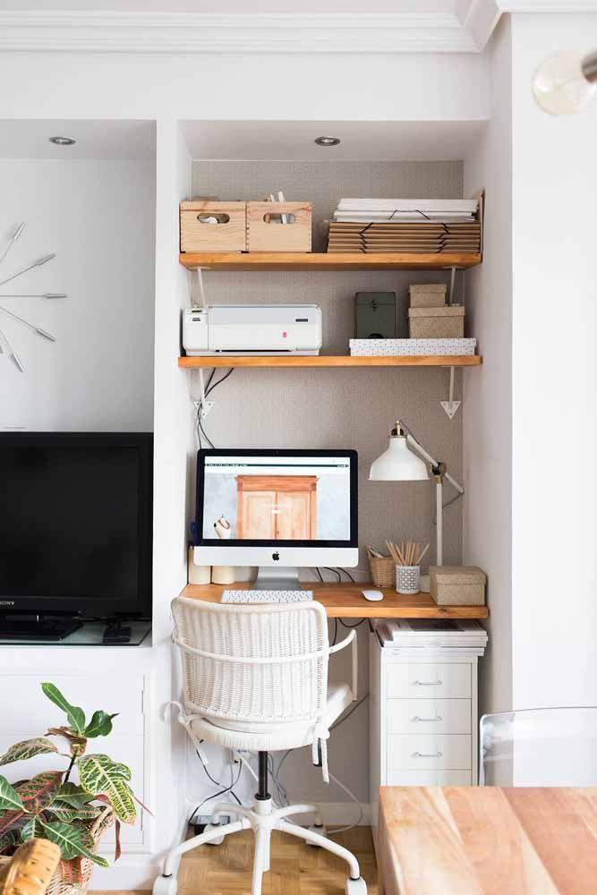 Prateleiras e caixas organizadoras: companheiras fiéis uma da outra, seja na funcionalidade, seja na estética