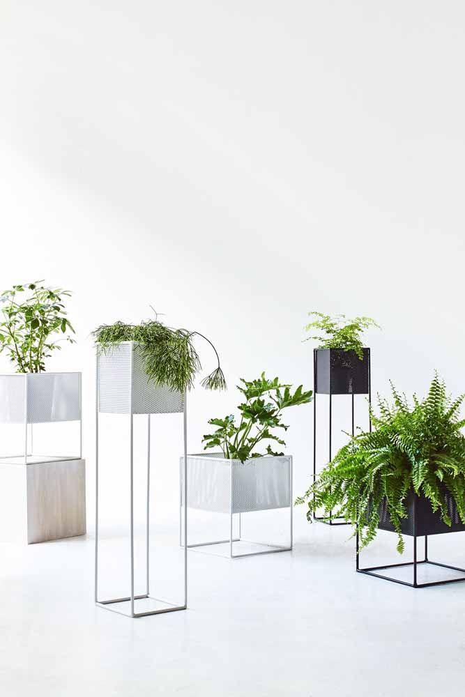 Se você queria inspirações de vasos para uma decoração industrial aí está!