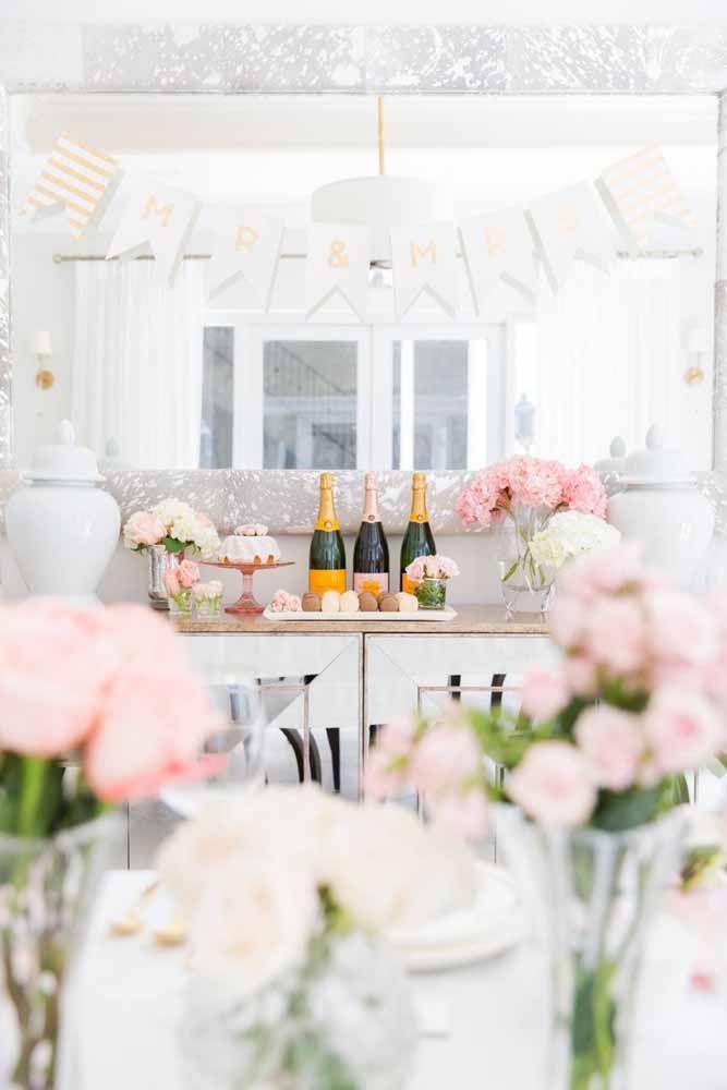 Champanhe para brindar
