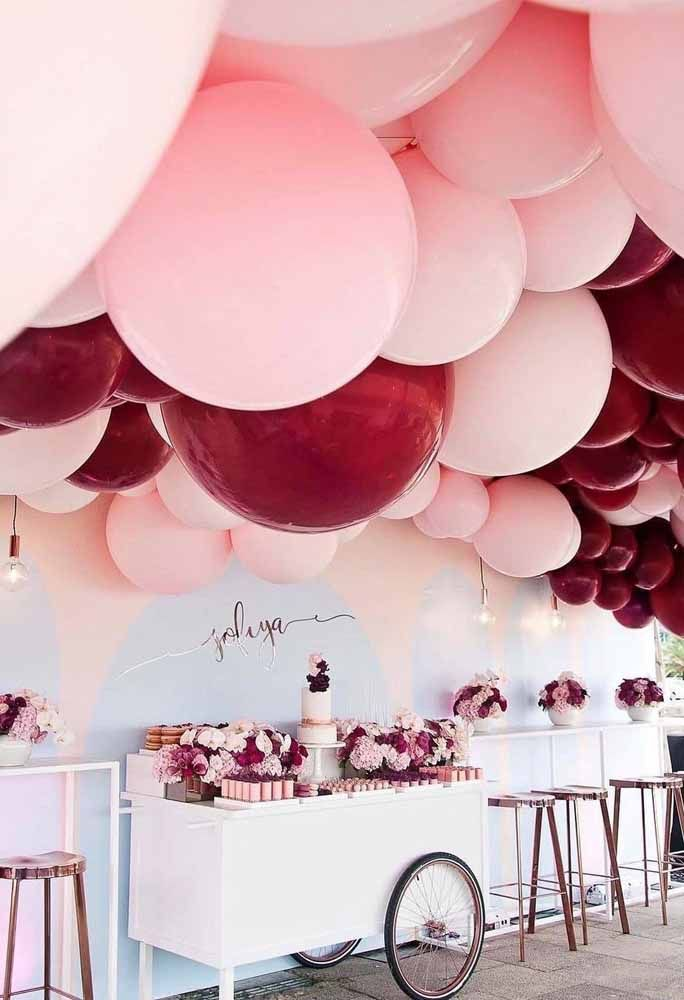 Balões, balões, balões!