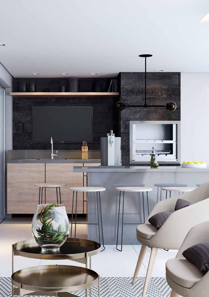 O cinza tão presente na decoração de estilo industrial é uma entre as diversas opções de cores da Silestone
