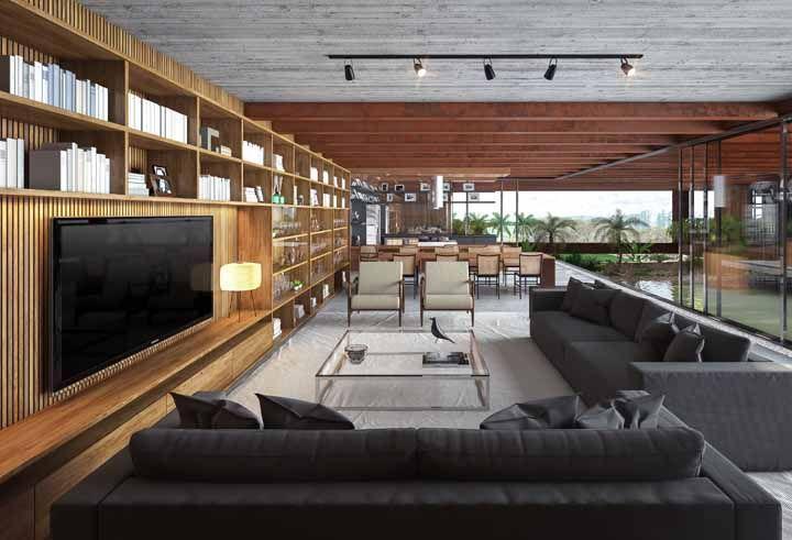 Móveis proporcionais ao tamanho da sala: muitas vezes é só isso que o ambiente precisa
