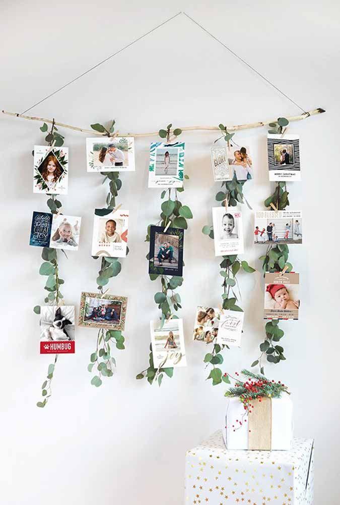 Que tal fazer um painel de fotos para decorar a sua casa?
