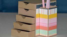 Artesanato com papelão: 60 ideias para você ter como referência