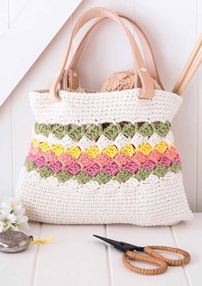 Pensou ter uma bolsa linda, exclusiva e feita por você?