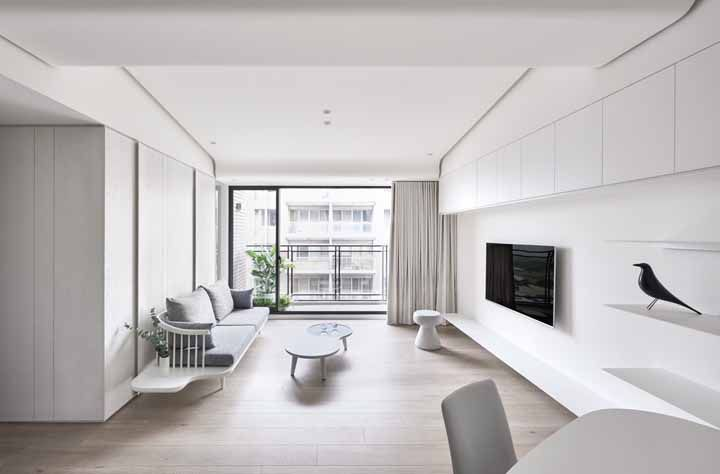 As cores claras são as mais indicadas para esse ambiente da casa
