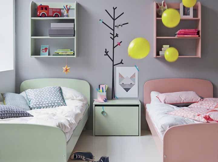 O verde representa o elemento madeira e é associado à renovação de energias e a novos ciclos. Essa é outra ótima opção de cores no Feng Shui para quartos, principalmente os infantis