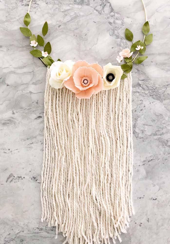 Arco florido e com franjas: para decorar a casa ou uma festa