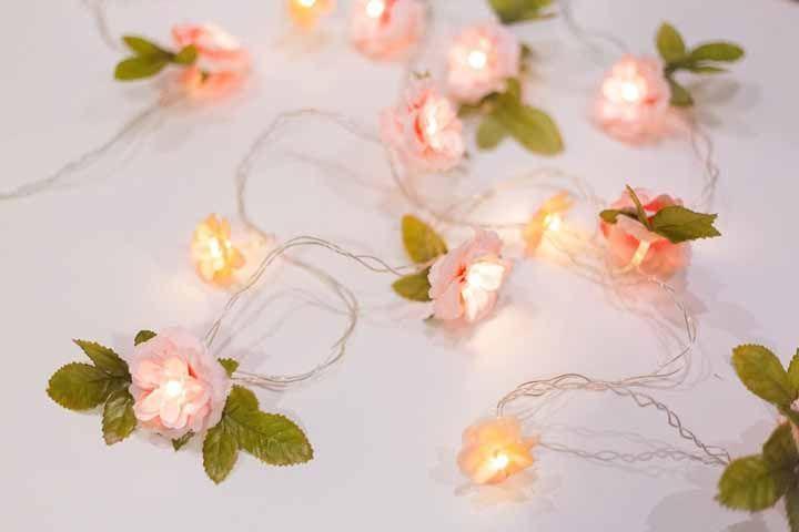 Em cada flor, uma luz