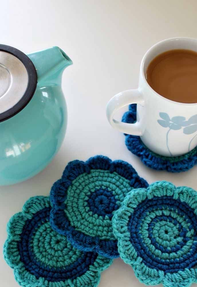 Com crochê você faz objetos surpreendentes
