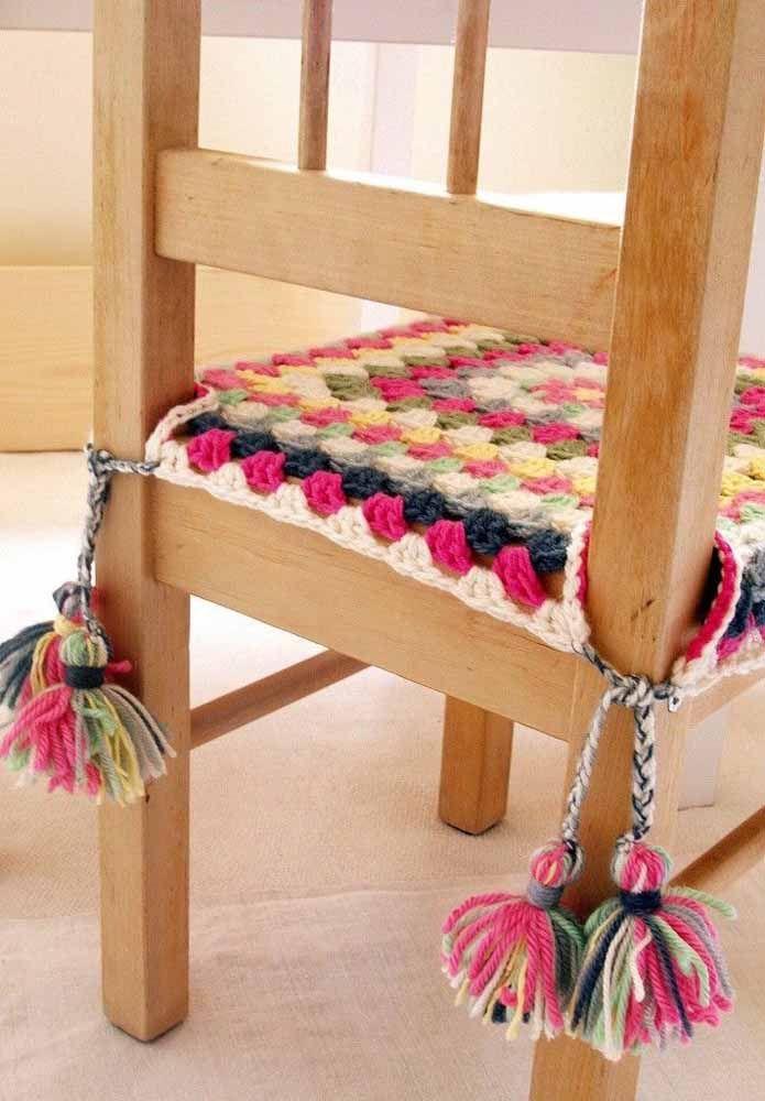 Proteja a sua cadeira colocando uma capa