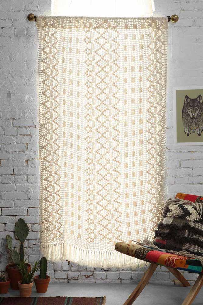 Não basta ser apenas uma cortina, tem que ter estilo