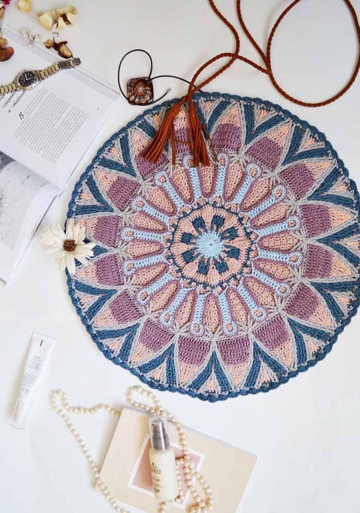 O tapete pode ser um item decorativo para o seu piso