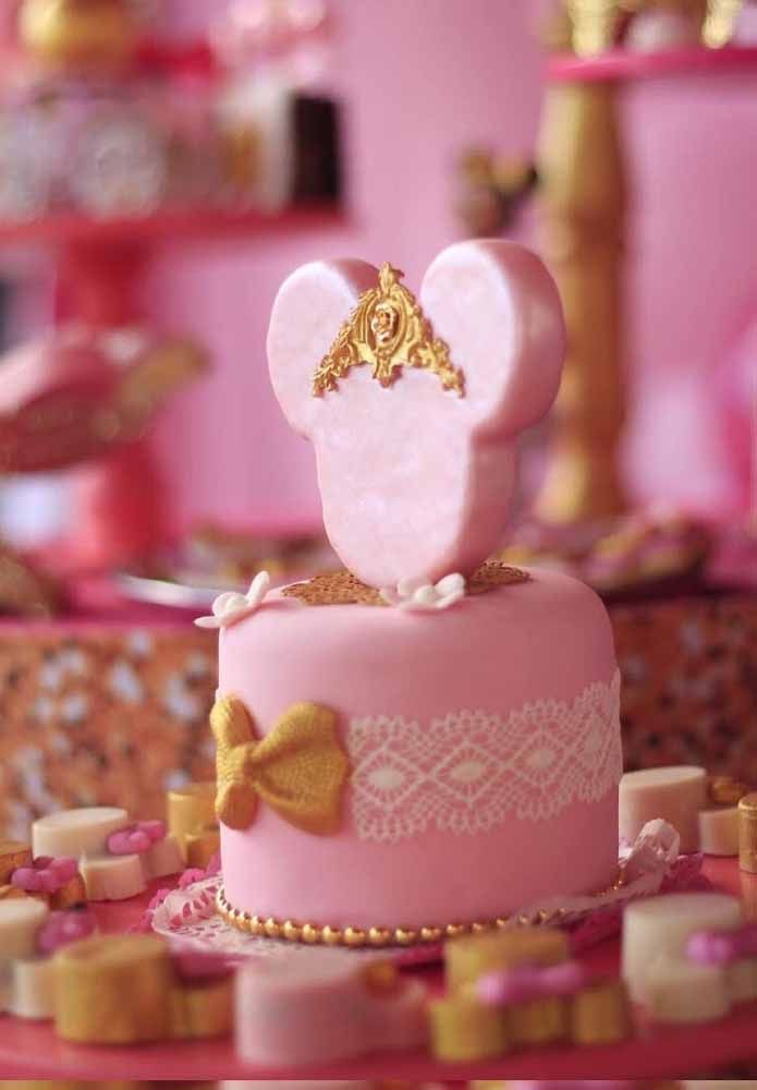 Minnie em versão princesa
